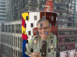120-foot electronic Super Bowl billboard in New York features Arpaio