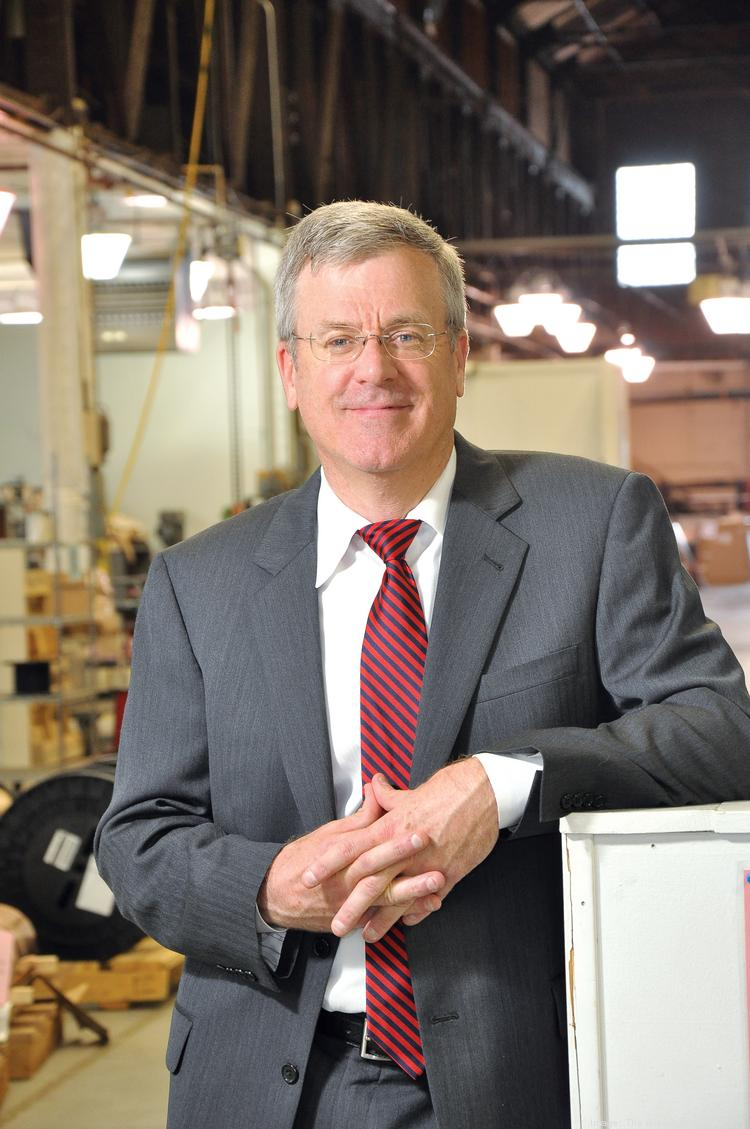 Mark St. Pierre, president and CEO of Espey Mfg. & Electronics Corp. in Saratoga Springs, NY