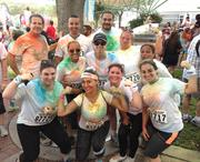 The Solstice Benefits team has run four 5Ks, and participates in company health events.