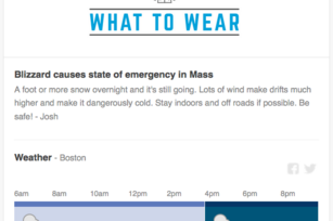 Blizzard brings windfall for Boston weather startup
