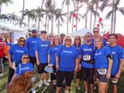 The Geo Group, recognized for heart-healthy activities, participated in the Heart Walk.