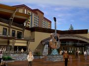 Hard Rock Hotel & Casino in Lake Tahoe opens on Wednesday. The hotel is a rebranding and renovation of an existing hotel and casino.