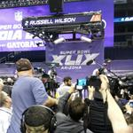 Super Bowl Media Day: Spectacle and sponsorships