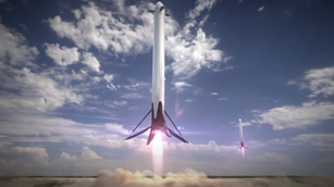 SpaceX reveals flight animation of epic Falcon Heavy rocket