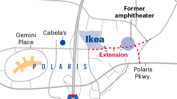 Ikea Project At Polaris Heightens Need For Gemini Parkway - Ikea us map