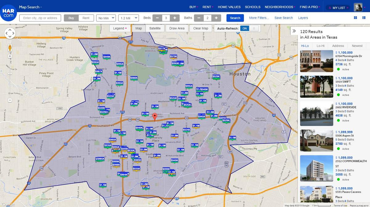 Newlydesigned HARcom allows Houston residents to search for