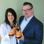 Orlando tech firm's bright idea for shoes catches consumers eyes