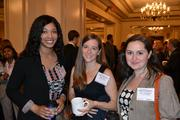 From left, Sierra Jackson of Aronson, with Ellen Root and Jane Yamaykin, both of Food & Friends.