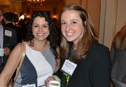 Amanda Desourdis, left, of BAE Systems, with Kathryn Delli-Colli of Ernst & Young.