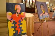 Artwork at the Corporate Philanthropy event was offered for sale, and the proceeds went to Life Pieces to Masterpieces, a D.C.-based nonprofit that benefits African-American young men and boys that live in poverty.