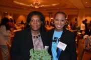Yvonne Bass, left, of MassMutual Greater Washington, with Kelly Brinkley of the United Way National Capital Area.