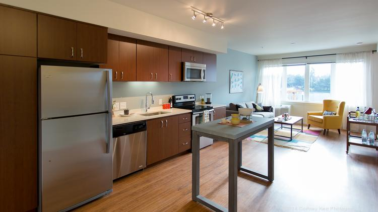 The apartments in Grant Park Village were outfitted for the IOTAS platform.