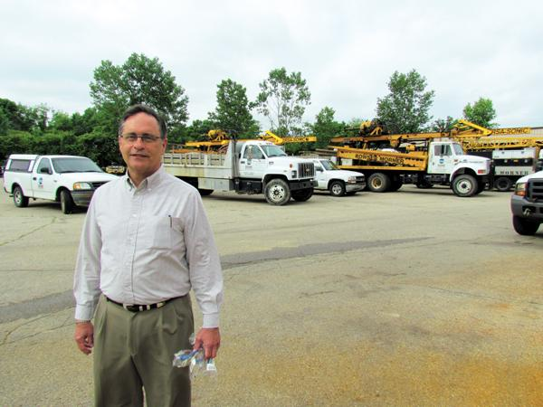 Growing Firm: Steven Bowser is president of Bowser-Morner Inc., which has revenue in excess of $10 million annually.