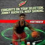 Chicago Bulls' <strong>Jimmy</strong> <strong>Butler</strong> is an All-Star and Mountain Dew takes note