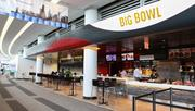 Asian-themed eatery Big Bowl in Terminal 5 is the first restaurant that Chicago-based restaurant chain Lettuce Entertain You Enterprises has opened in an airport.