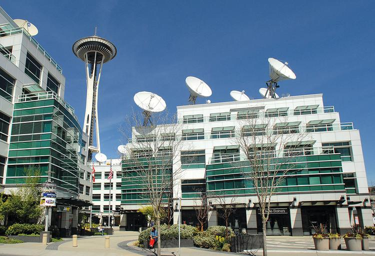 MEDIA BEACON: Fisher Communications sold its tech-infused headquarters near Seattle Center, Fisher Plaza, for $160 million last year. Now the company is set to become part of Sinclair, the country's largest broadcasting group, which reaches a third of U.S. households with 134 TV stations.