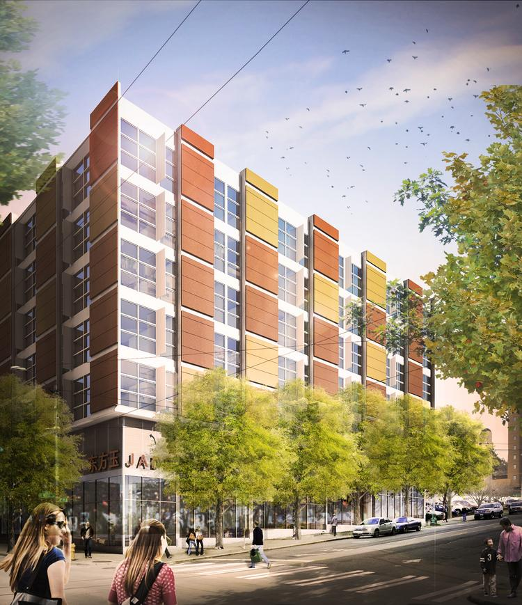 General contractor Marpac is scheduled to begin building Hirabayashi Place early next year in Seattle's Japantown.