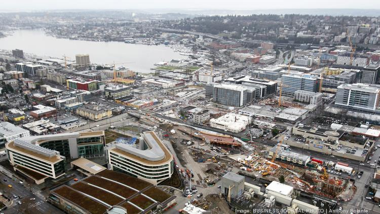 south lake union used to be a no mans land now it is home amazon office space