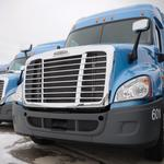 Turnover rates at trucking companies set milestone not seen in five years