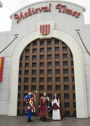 Dallas' Medieval Times castle is 70,000 square feet, seats 1,000 and is one of nine in the company.