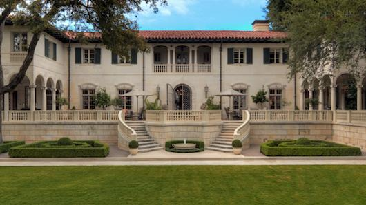 Historic Austin Mansion On The Market Garnering National Attention Austin Business Journal