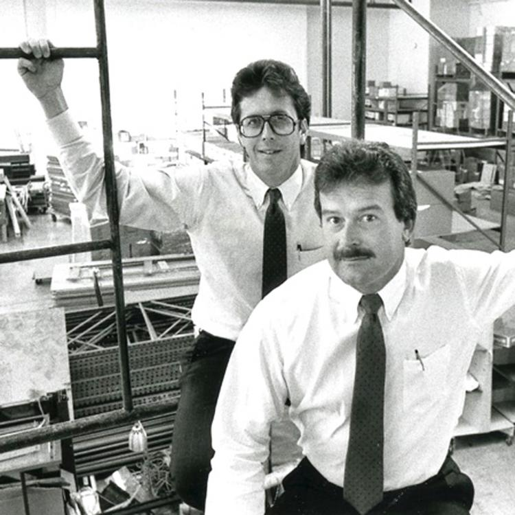 Dub Doyal and Bob Bryant started a thriving printing business with $500 each and a $25,000 credit line. Today, the company is owned by Consolidated Graphics.
