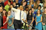 President Barack Obama visited Mooresville Middle School on June 6, saying he wants high-speed broadband and wireless Internet access available at 99 percent of U.S. schools over the next five years. Click here for a closer look at the event.