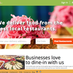 GrubHub buys online restaurant delivery service DiningIn
