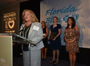 Maria Martin speaks for Royal Caribbean Cruises Ltd. the winner in the 500+ category.