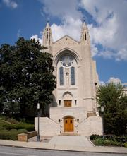 The Cathedral of Christ the King is an example of French Gothic Revival and home to the Catholic Archdiocese of Atlanta.