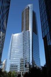 Sovereign and 3344 Peachtree are a series of curved planes.