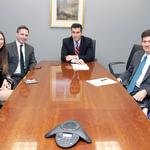 Law firm newcomers learn ropes