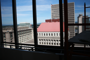 """Views to the east from the Hilton Portland & Executive Tower's 23rd floor """"Skyline"""" level. The new meeting space debuts in July."""