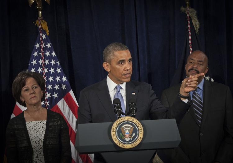On Friday morning, President Obama spoke to reporters at the San Jose Fairmont on the Affordable Care Act.