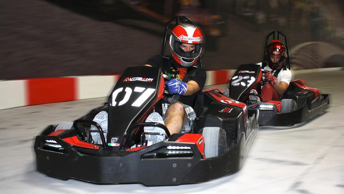 Start your engines: Formula One-inspired go-kart track coming to