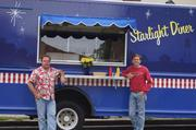Owners: Mike Senti (left) and Kevin Bandy of Starlight Diner