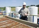 A look inside a Wise County frack water recycling center