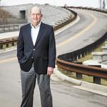 Civil engineer Glen Kelly gets his biggest kicks from improving people's lives