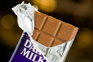 Cadbury was purchased by Kraft Foods in 2010. Kraft became Mondelez International last October.