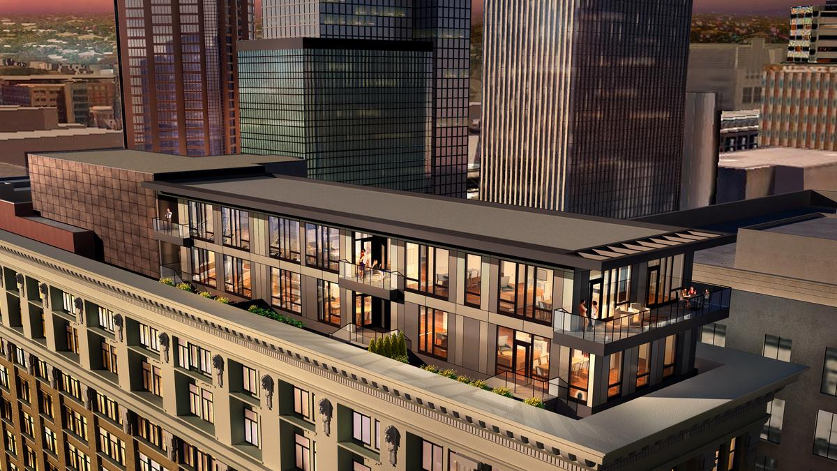 Dream Homes Downtown St Paul Penthouses Listed For 1 3m