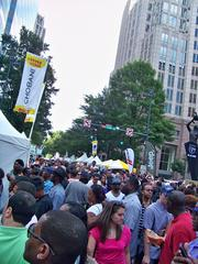 The Taste of Charlotte crowd.