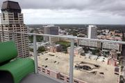 The view from Universal's condo at Signature Place.