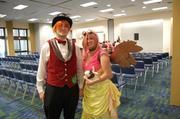 This was Brian and Kim Curler's second HeroesCon. The couple, dressed as Big McIntosh and Fluttershy from My Little Pony, are from Raleigh.