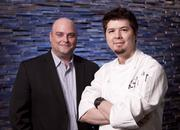 Chad Shobbrook, left, is food and beverage director at the Red Roost Tavern. Bernard Foster, right, is executive chef.