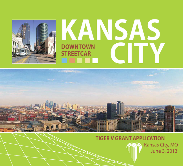 Kansas City officially submitted their application for $20 million in discretionary funding from the fifth round of federal grants distributed through the U.S. Department of Transportation's Transportation Investment Generating Economic Recovery program.