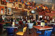 Each Chuy's restaurant features wooden, hand-carved and hand-painted fish, made by the same Austin family outside Guadalajara for the last 20 years.