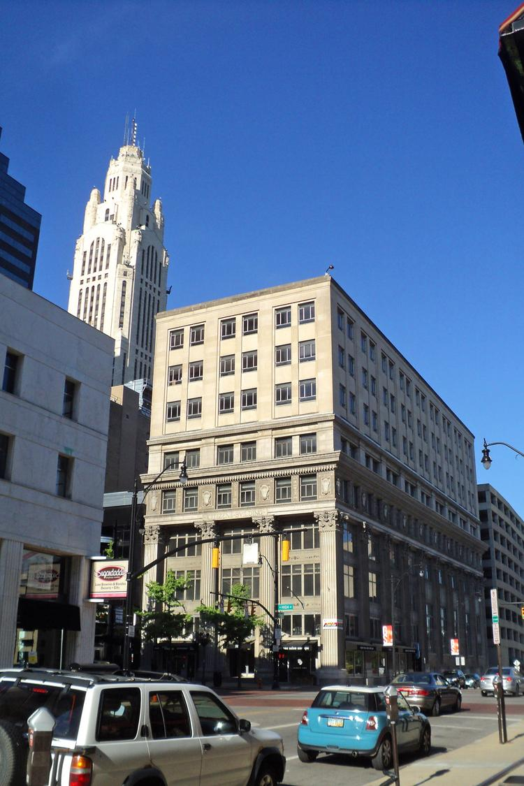 Edwards Cos. is said to be the buyer of the eight-story, 91,000-square-foot property at 49-53 N. High St.