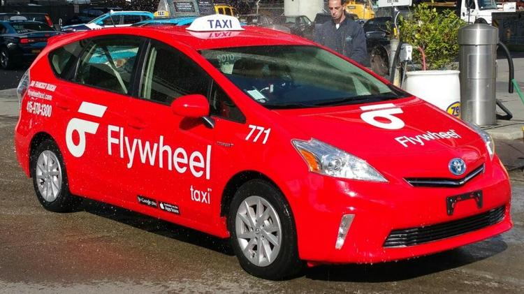 DeSoto Cab rebrands to FlywheelTaxi to combat ride-hailing