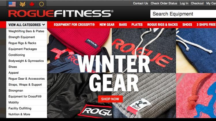 Rogue fitness plans m consolidation project on former