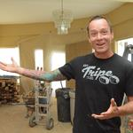 Salvaged material instills local character in shops